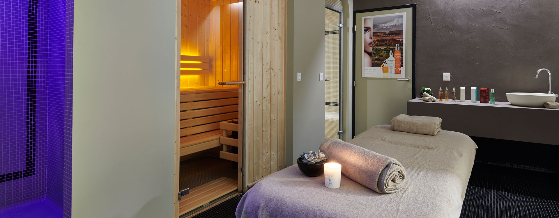 cabine de soins - spa splendid dax