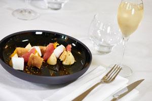 repas du reveillon - hotel splendid dax