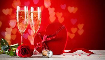 menu hotel splendid dax - saint valentin
