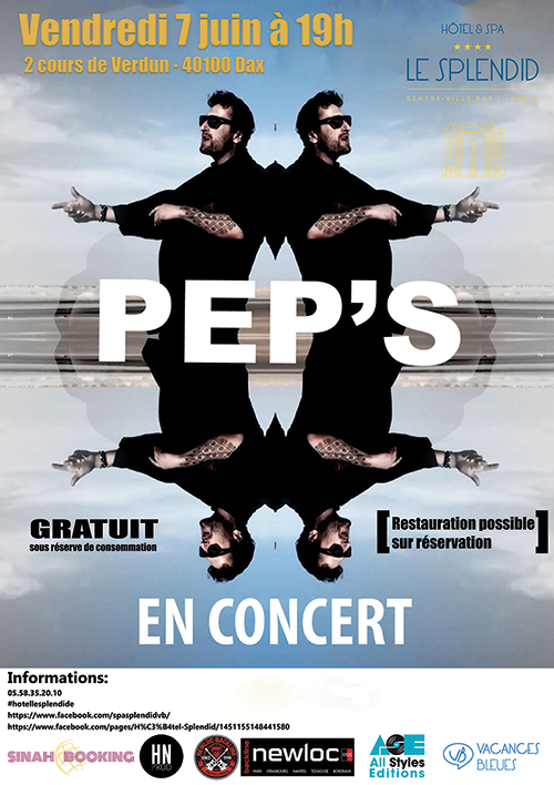 peps concert dax