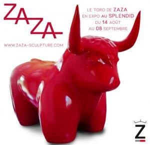 exposition zaza au splendid dax