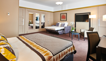 Nice deluxe room at hotel splendid in dax